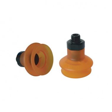 聚氨脂(PU)系列 - 1.5折,2.5折,单层扁平带螺母真空吸盘
